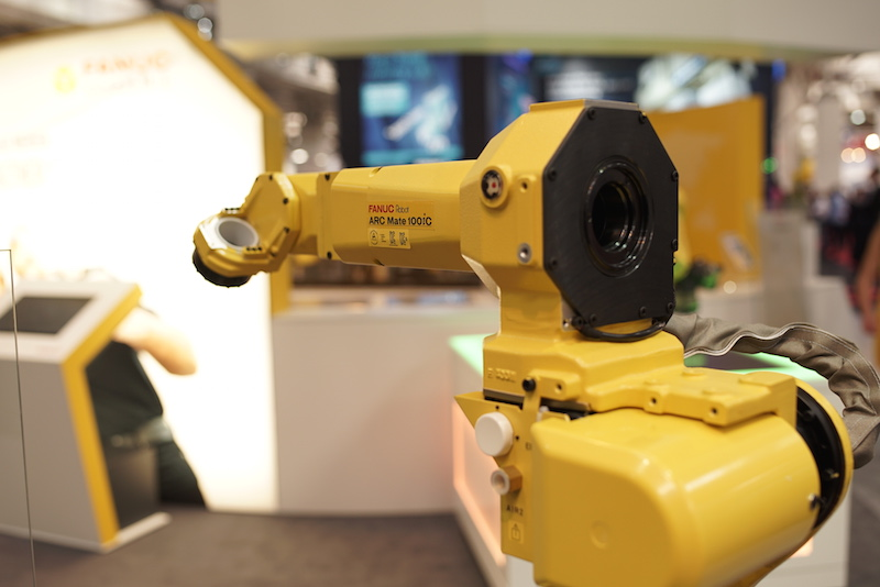 Fanuc hollow arm robot copy