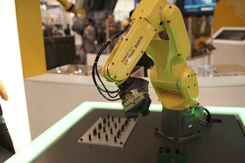Fanuc small robot copy