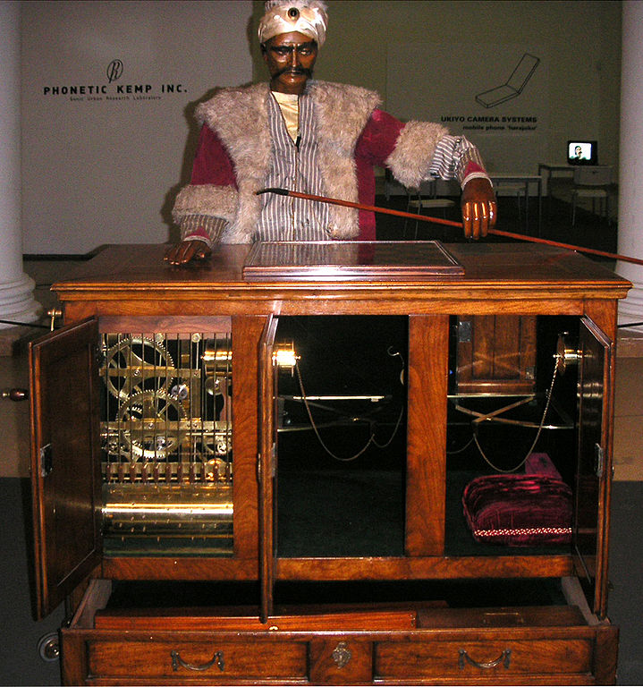 A replica of the Turk automaton