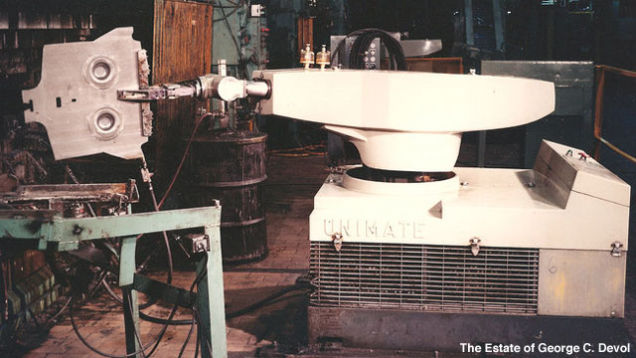 The Unimate industrial robot developed by George Devol used hydraulics.