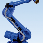 Motoman ES200N industrial robot arm with NX100 controller